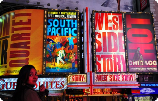 South Pacific, West Side Story, Chicago