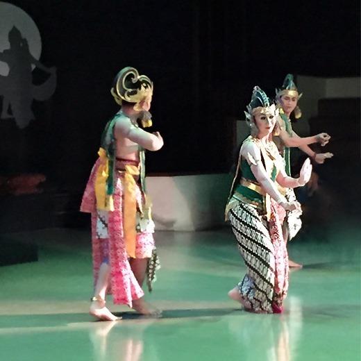 Prambanan Ramayana Ballet - Rama, Sita, Lakshman
